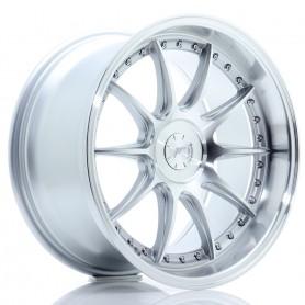 JR Wheels JR41 18x9,5 ET15-35 5H BLANK Silver Machined Face
