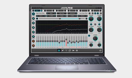 Procesor dźwięku alpine